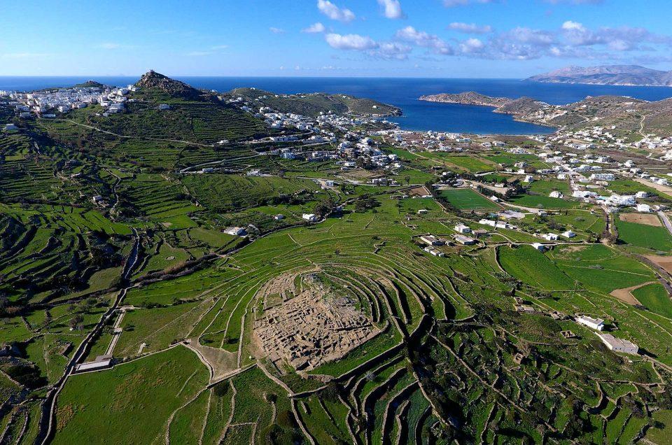 Το πανέμορφο νησί της Ίου την Άνοιξη