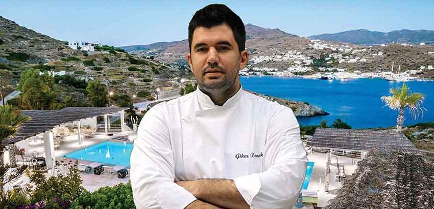 Menu Degustation with chef Gikas Xenakis